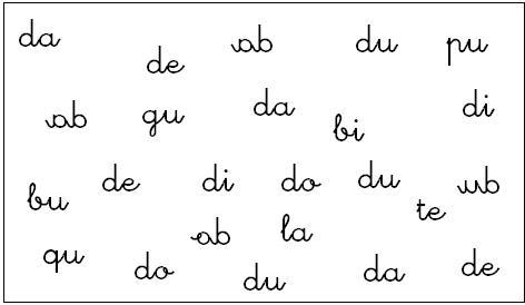 Discriminaci%C3%B3n visual s%C3%ADlabas Cómo enseñar a leer y escribir a niños disléxicos