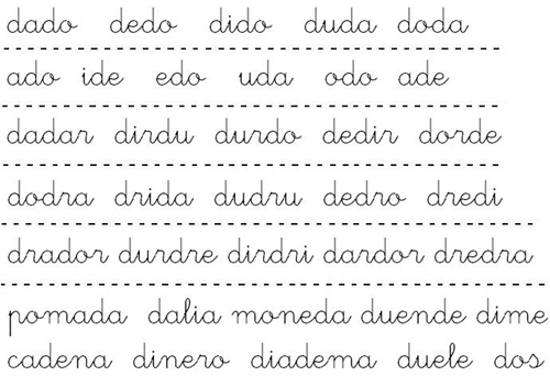 lectura palabras y pseudopalabras d Cómo enseñar a leer y escribir a niños disléxicos